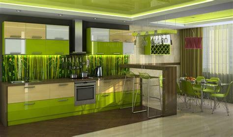 green wallpaper for kitchen cuisine verte pour un int 233 rieur naturel et doux 4046