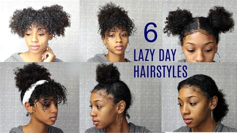 cute hairstyles for naturally curly hair school hair