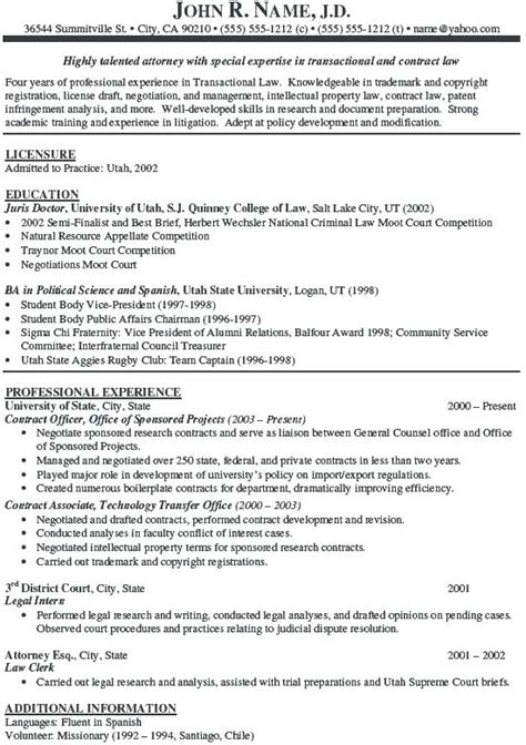experienced attorney resume samples diplomatic