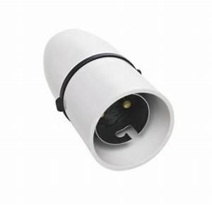B cordgrip lampholder for standard bayonet light bulbs