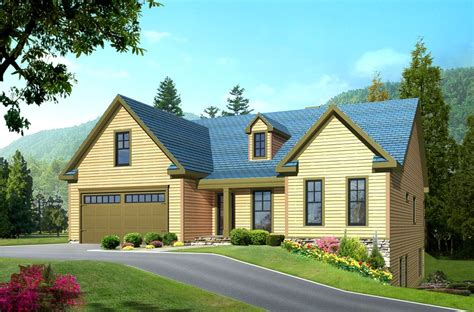 3 Bedroom, 3 Bath Country House Plan