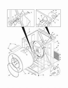 Frigidaire Model Gleq2152es1 Residential Dryer Genuine Parts