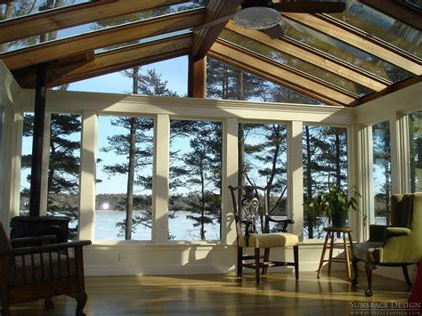 Sunrooms Designs Interior Design by All Season Sunroom Additions Design Construction Ma