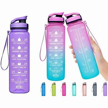 Water Bottle Motivational Oz Marker