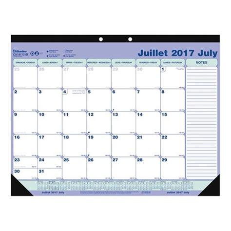 weekly desk pad calendar academic weekly desk pad calendar 2017 2018