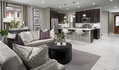 richmond american seasons collection model home complex