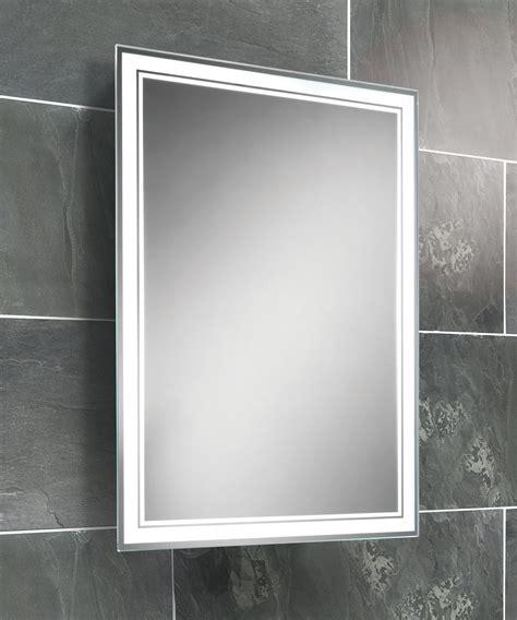 Lit Bathroom Mirrors by Hib Fluorescent Back Lit Mirror 500 X 700mm 77307000