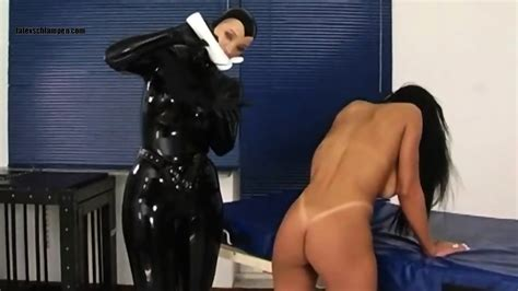 German Lesbian Rubber Dominatrix Fucking Hot Latina Eporner