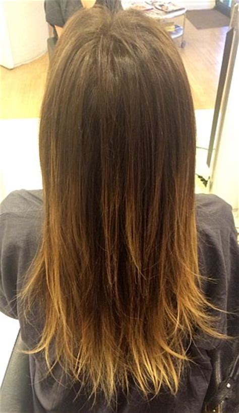 burning split ends     haircut daily