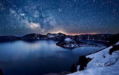 Bing Daily Wallpapers Lake Way Milky Crater