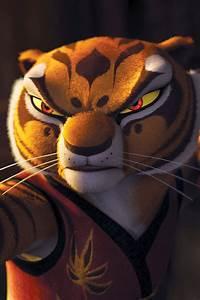 Kung Fu Panda Po And Tigress Kiss