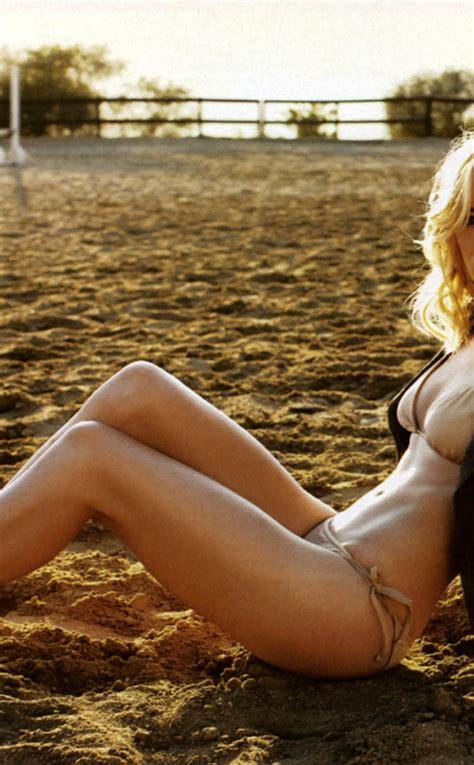 sexy yvonne strahovski  bikini full hd wallpaper