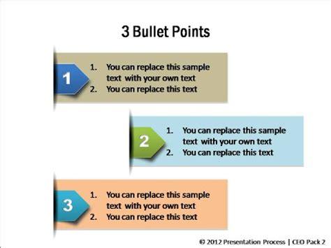 bullet point alternatives