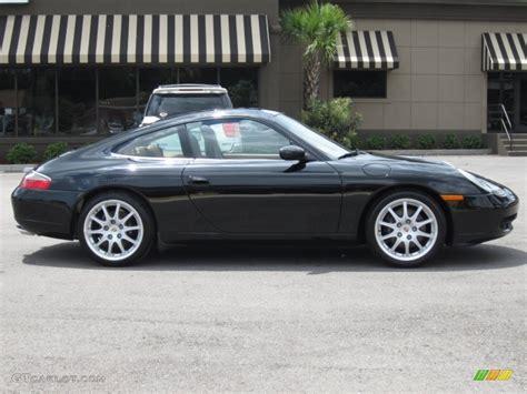 porsche coupe 2000 black 2000 porsche 911 carrera coupe exterior photo