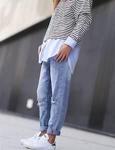 Les 25 meilleures idees concernant jeans boyfriend sur for Les breves tendances de mode