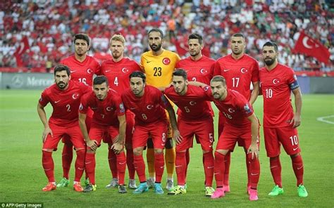 euro  france welcomes turkish football team turkey