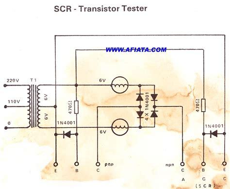 Transistor Tester For Repair Electronic Circuit Diagram