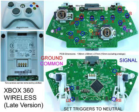 Xbox Circuit Board Wiring Diagram Image