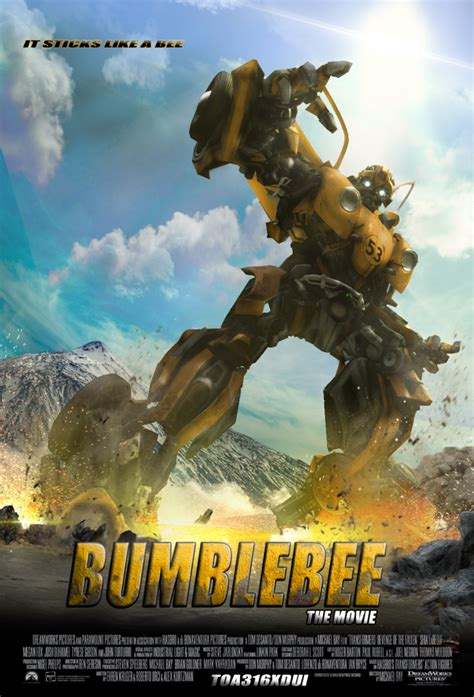 (poster The Spin Off Official Bumblebee ) Fan Made By