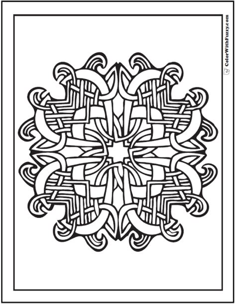 celtic coloring pages irish scottish gaelic