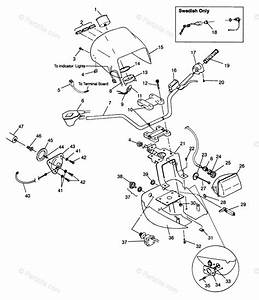 Polaris Atv 1996 Oem Parts Diagram For Handlebar