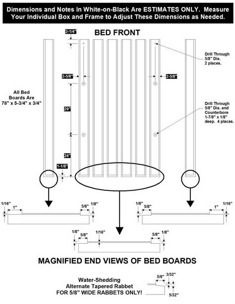 wood bed dimensions ford truck enthusiasts forums