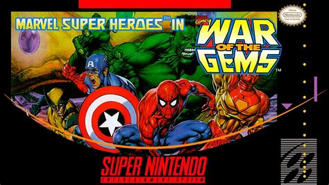 marvel super heroes  war   gems super nintendo