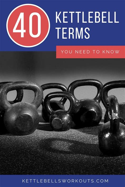 kettlebell terms know need training weird wonderful lots there