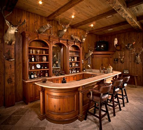 Rustic Home Bar by Rustic Bar Design Home Bar Rustic With Wood Panels Ranch