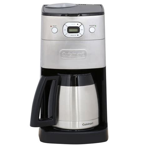 cuisine arte cuisinart grind and brew thermal 10 cup automatic coffee