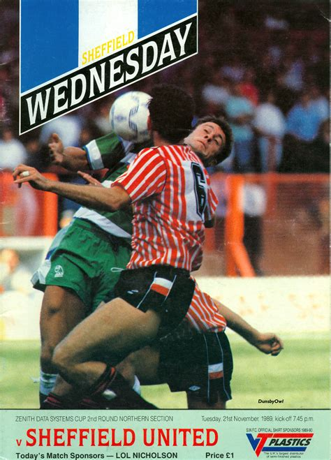 On This Day in 1989 - Sheffield Wednesday Matchday ...