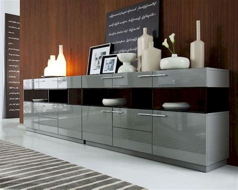 modern grey high gloss buffet db