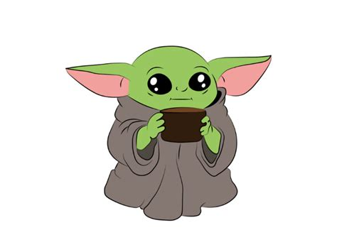 Download baby yoda svg free cricut available in all formats: Baby Yoda Svg Free - Layered SVG Cut File