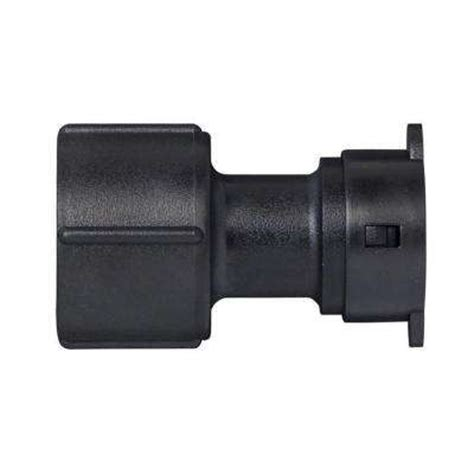 drip adapters drip irrigation fittings  home depot