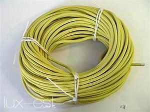 Grün Gelbes Kabel : 1m textilkabel gelb stoff kabel kaufen lux est ~ Articles-book.com Haus und Dekorationen