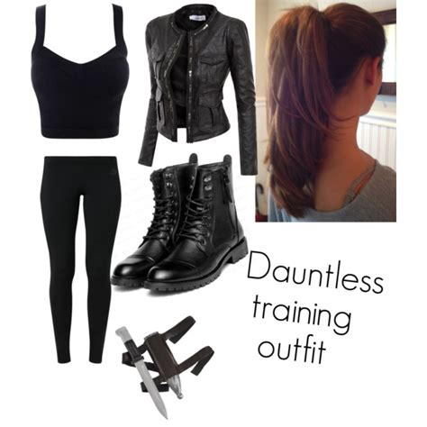 Dauntless training outfit - Polyvore