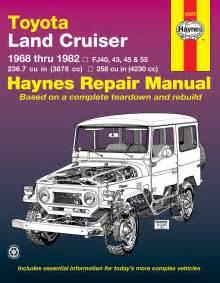 Toyota Land Cruiser Series Fj40  Fj43  Fj45  U0026 Fj55  68