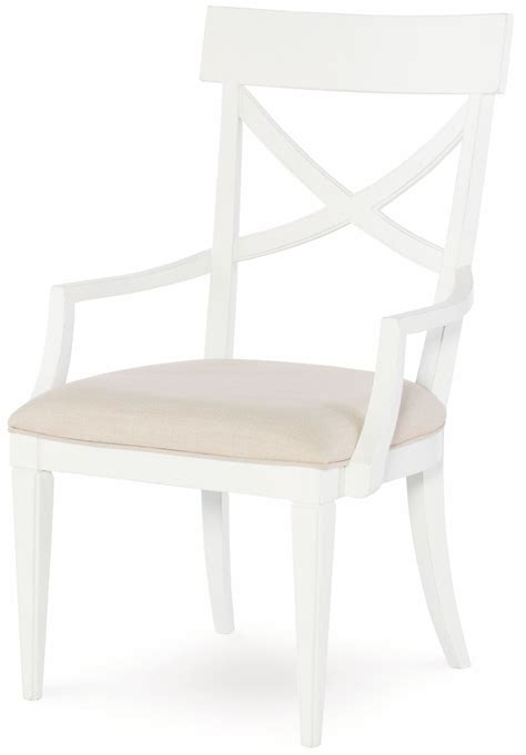 upstate bianco x back arm chair set of 2 from rachael