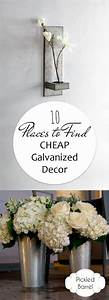 10 Places to Find CHEAP Galvanized Decor - Pickled Barrel
