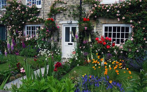 Beautiful Cottage Gardens Images For Download Wallpaperwiki