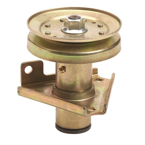 mower deck spindle replacement replacement spindle for deere 46 quot deck spindle