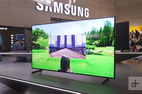 Fernseher 85 Zoll by Samsung S 85 Inch 8k Qled Tv Is Now Up For Pre Order For A