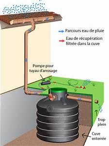 Récupérateur D Eau De Pluie Enterré : recuperateur eau pluie jardin infos sur le recuperateur ~ Premium-room.com Idées de Décoration