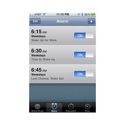 how to set alarm on iphone 6 iphone iphone alarm