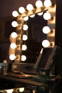 the experience of broadway lighted mirror on hayworth vanity