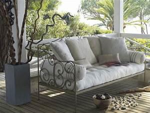 17 meilleures idees a propos de canape shabby chic sur With tapis de sol avec canapé de jardin fer forgé