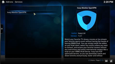 ivacy introduces its vpn addon for kodi xbmc player