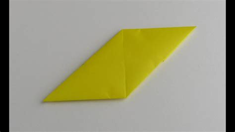 origami modular sonobe unit youtube