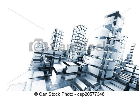 technology architecture icon images construction