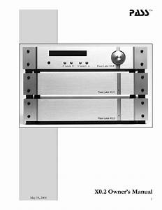 Pre-amplifier Manuals